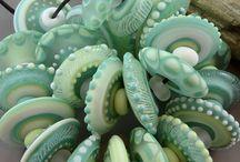 Colour palettes - green