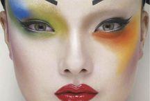 geisha makeup