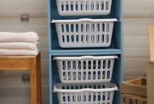 Let's Do Laundry :3 / Laundry room decor, organization, designs