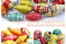 Paper Beads - Tutorial