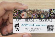 AZ Warm Glow - ART, BEADS & CRYSTALS