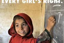 International Day of the Girl! / Join us in celebrating International Day of the Girl on October 11!  Let's work together to educate girls and transform lives. #dayofthegirl