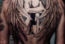 Tatuaje de alas