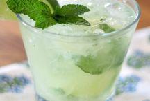 Drank mint met lemon