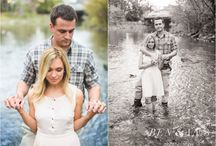 Fly fishing engagement shoot