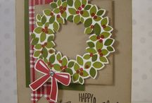 Wreath / Stampin up