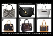 Monday Fashion Special Auction / Dooney & Bourke, Brahmin, Juicy Couture, Michael Kors and Kate Spade  100% authentic designer bags - win them for pennies at auction @OneCentChic tonight at 10 PM