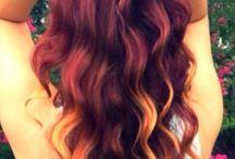 hårfarver/hår pynting