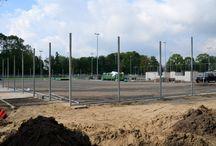 HC Schiedam / Building the new club HC Schiedam (1300 members)