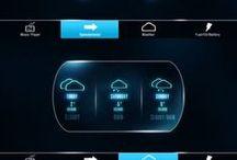 Car Indicator/HUD/Meter