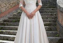 Style sukienek ślubnych