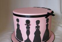 Sziluett torták