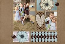 Scrapbooking layouts and ideas for inspiration / Scrapbook pages that inspire us