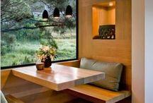 Domy modułowe / Drewno na ścianach