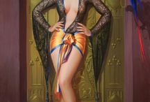 Pin-Up Art by EASTMAN, Ruth