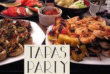 Parties-Sangria and Tapas