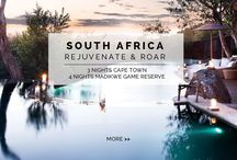 Experience - Rejuvenate & Roar / Step away from your everyday routine and into the lap of luxury. This 7 NIGHT / 8 DAY TRIP has everything you need to unwind AND experience some of South Africa's finest game viewing.