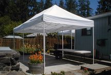 Offering various tent sizes for your special event / Tents - Angles and Sizes