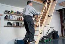 attic steps