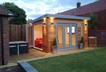 ogrodowy mini domek