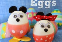 Easter Eggs with Lisa