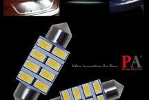 Car Interior Light White LED