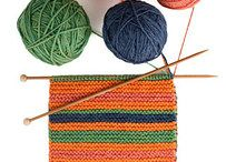 Knitting - Shawls and Scarfs