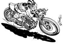 Motorky sketch