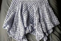 crochet dresses + skirts