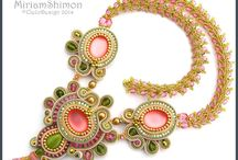 soutache jewelry / by Lindsay Weirich