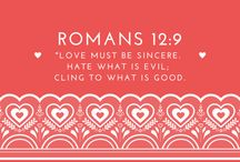 Valeinte's Day Bible Verses / Bible verses on cute images are perfect to show your love for Christ this Valentine's Day.