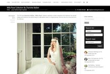 """Charlotte Balbier """"Willa Rose"""" Press Coverage / Charlotte Balbier's new bridal collection """"Willa Rose"""" takes us trough a magical journey of bohemian free spirited designs ♡"""
