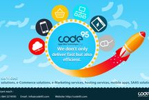 Code95 services / Code95 is a web technology services, design, development , and marketing company, Learn more about Code95 http://www.code95.com/