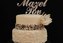 """Special Occassion Toppers / When time or budgets are tight choose from our Standard line of 4"""" letters & numbers and unique designs."""
