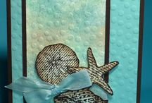 Sea shell cards