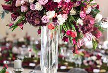 Marsala Wedding / Marsala wedding flowers, marsala wedding color, marsala wedding centerpieces, marsala wedding reception, marsala wedding ideas, marsala wedding bouquet