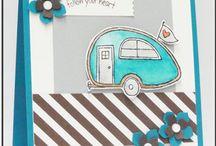 Travel trailer cards