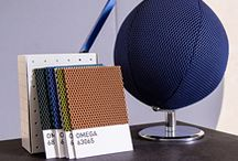 Omega - a grid of contrasting colours / Omega; fabric; design; inspiration; office; furniture design inspiration; home
