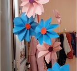 fiori di carta tridimensionali