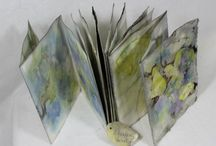 BoiLeD BooKS: Eco Printing / Flora, Foliage, and the Art of Writing... BoiLeD BooKs are each uniquely fabulous!