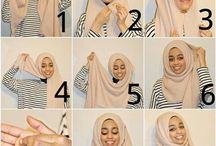 hijabs / by Nasmah Khalyl