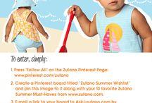 Zutano Summer Wishlist / by Rajee Pandi