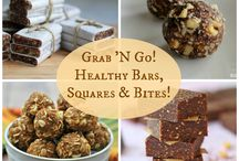 Easy Healthy Snacks / Healthy snacks that you can be taken to the office. Easy to transport, easy to make or easy to reheat.