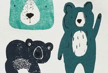 Cute animal illustration / Cute illustrations with lovely animals.