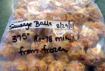 freezer foodie ideas / by Kathryn Choate