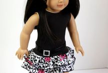 AG Skirt Sets / Skirt Sets for the American Girl / by Judy Hart