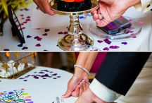 Colour crazy in love wedding inspiration