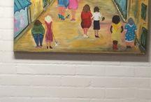 Schilderijen.. 2014