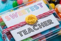 DIY Teacher Appreciation Gifts / DIY Crafts for students of all ages to thank their teachers for all of their amazing work! Perfect gifts for the end of the school year, holidays, or just because!