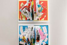 Dr. Seuss Art / Altered books by Dr. Seuss / by Sarah Parys